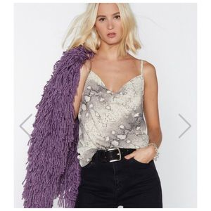 Nasty gal What difference does it snake Cami 2